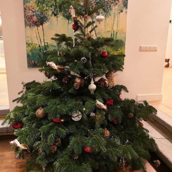 Rūtos Mikelkevičiūtės kalėdinės dekoracijos