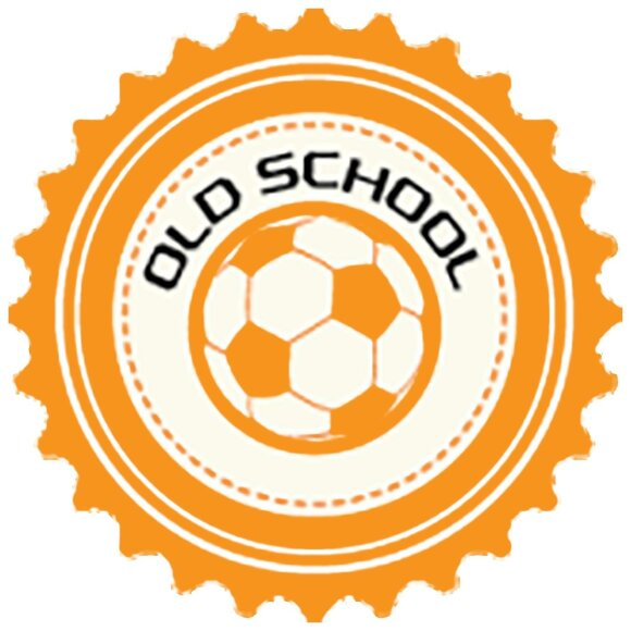 """Old School"" logotipas"