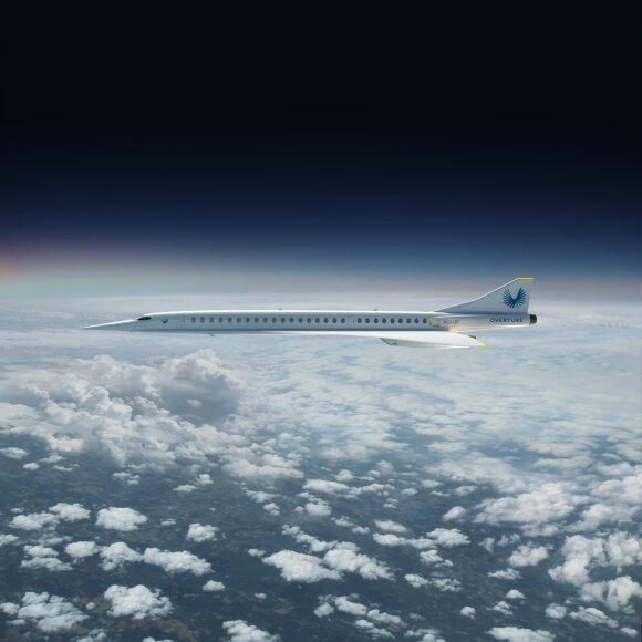 Viršgarsinis lėktuvas