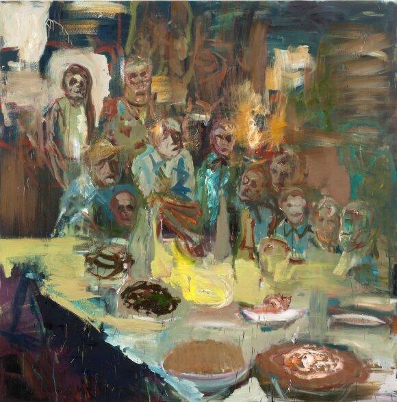 """Gintaras Makarevičius. """"Šeimos šventė"""" (2016)"""