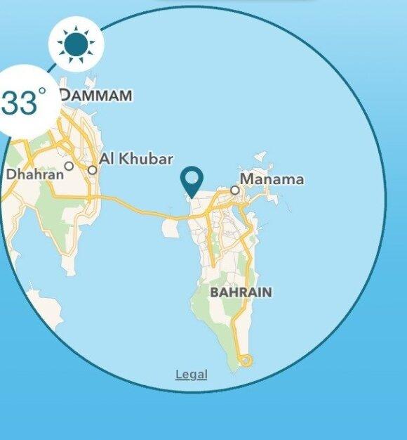 Tiltas iš Bahreino į Saudo Arabiją
