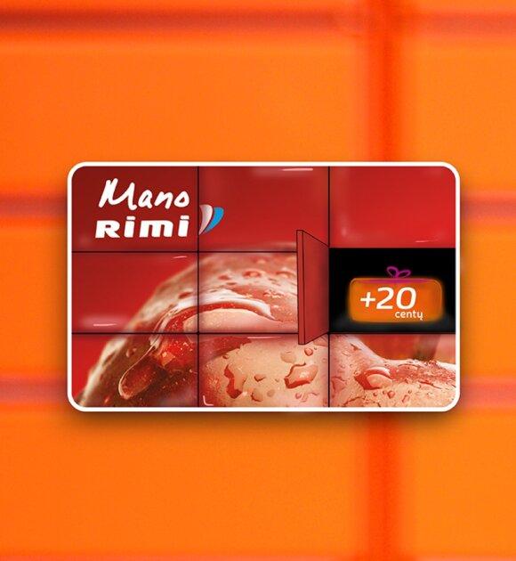 """""""Rimi"""" ir """"Omniva"""" pristato pirmąją lojalumo programą siuntų rinkoje"""