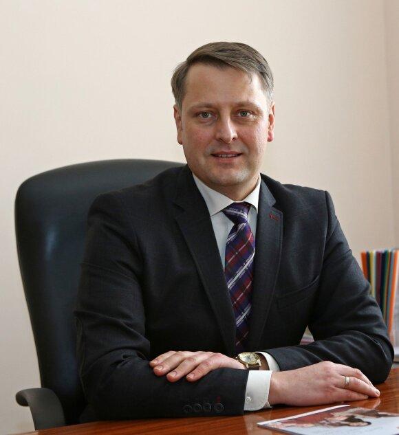 Šiaulių universiteto prorektorius Remigijus Bubnys
