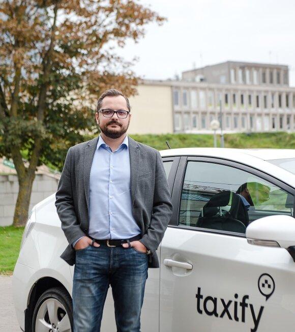 """""""Taxify"""" vadovas Lietuvoje Andrius Pacevičius"""