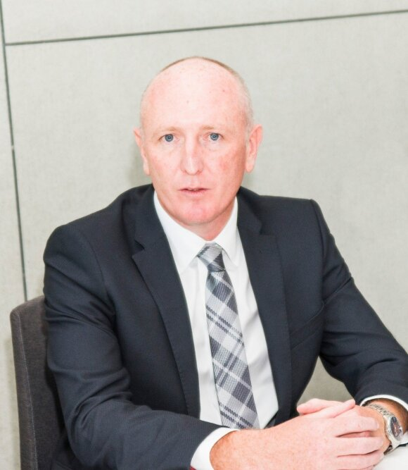 Australijos Aplinkos ministras Stephenas Dawsonas