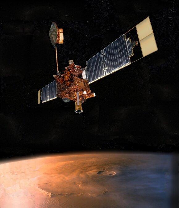 Mars Global Surveyor palydovas/NASA nuotr.