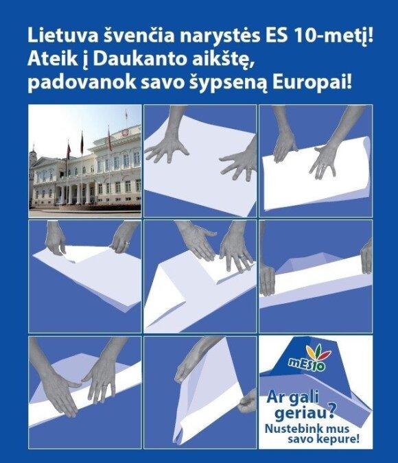 Konkursas! Padovanok savo šypseną Europai!