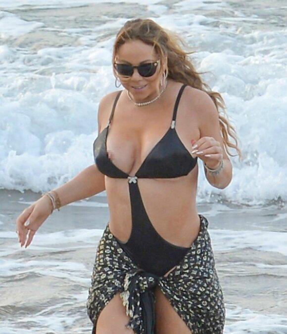Ups... Mariah Carey parodė daugiau, nei norėjo