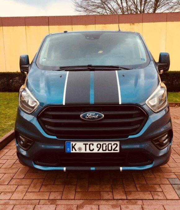 """Originalesnė """"Ford Transit Custom"""" versija"""