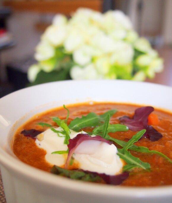 Lęšių sriuba – norintiems sulieknėti ir sustiprinti imunitetą