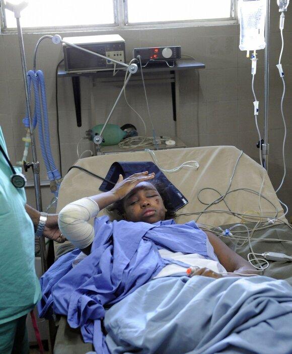 Vienintelė avariją išgyvenusi Bahia Bakar