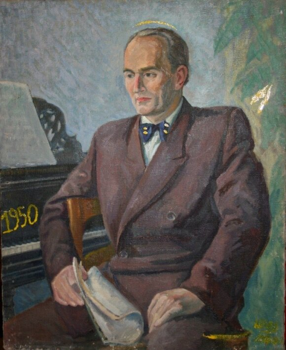 """Leonas Katinas, Linas Katinas. """"Operos dainininkas Gutauskas"""" (1950-2016)"""
