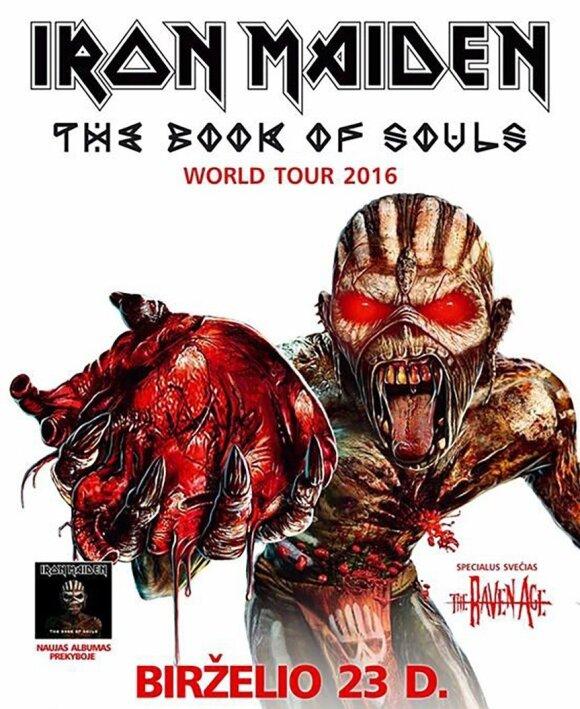 В Литве запретили рекламу концерта Iron Maiden: она пугает детей