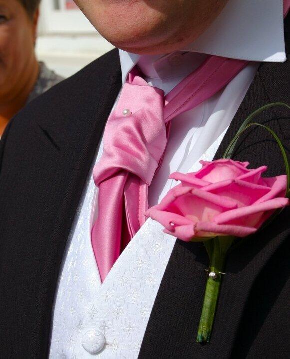 Svajingos rožinės vestuvės
