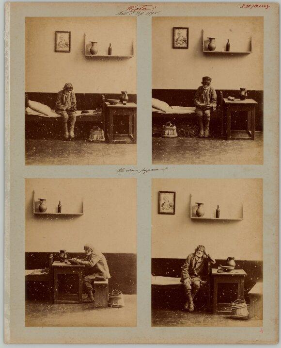 Valstietis vienumoje (ciklas). 1898 m. rugpjūčio mėn. – 1898 m. rugsėjo mėn. Viala, Minsko gub., Rusijos imperija. Fotografijos muziejaus rinkinys