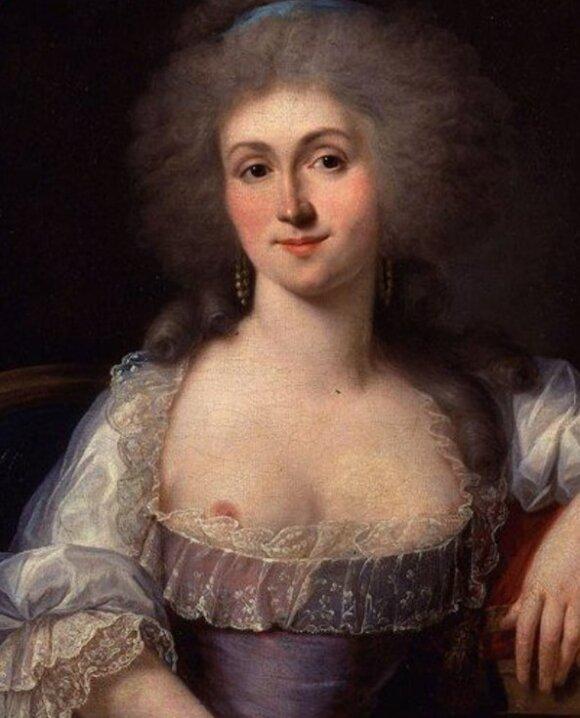 18-ojo amžiaus paveikslas iš Prancūzijos
