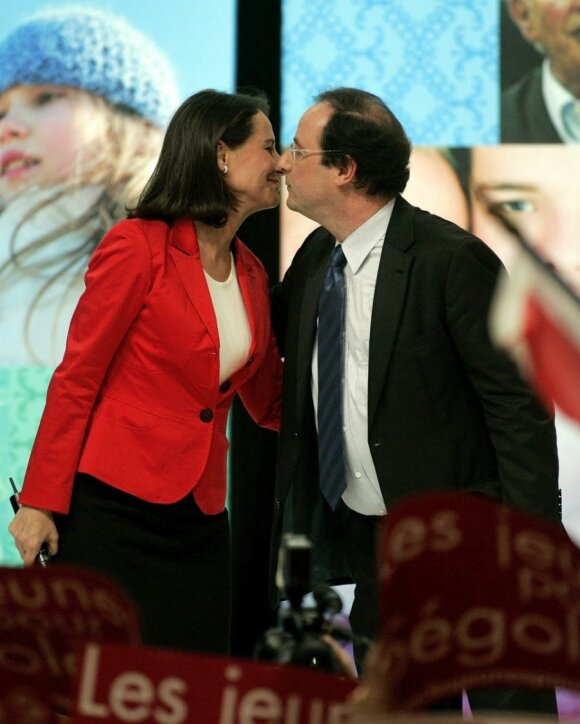 Segolene Royal, Francois Hollande'as