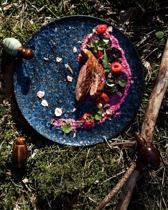 Specialiai šventei Linos Žilevičės sukurtas patiekalas