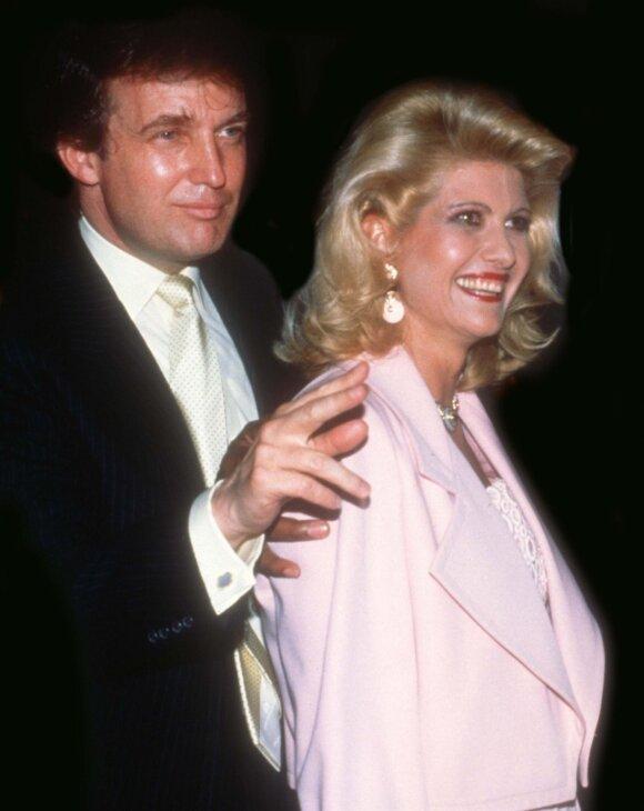 Ivana ir Donaldas Trumpai