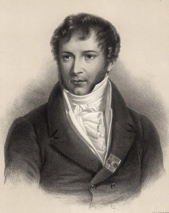 Kunigaikštis M. K. Oginskis. Dail. Francois Granet