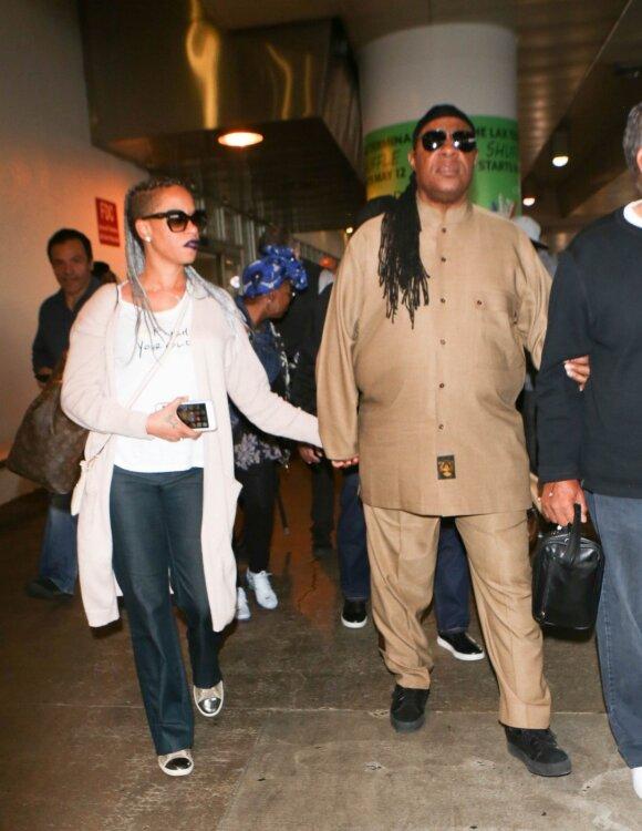 Stevie Wonder ir Tomeeka Robyn Bracy