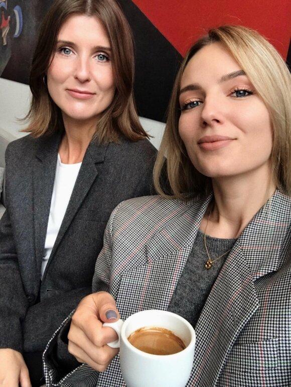 Vilija Rušinskaitė ir Simona Burbaitė