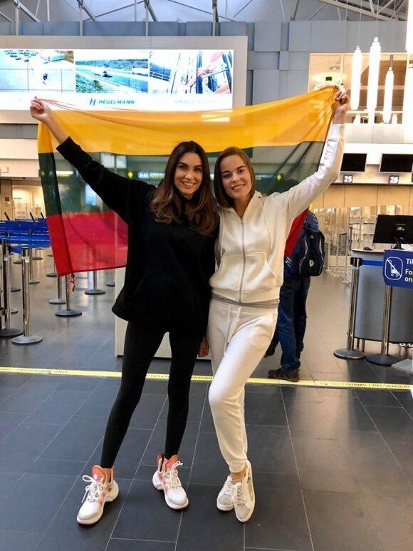 Gretė Brokienė ir Tatjana Lavrinovič