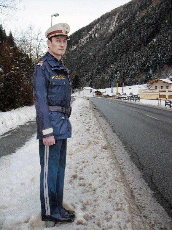 Metalinis policininkas Austrijoje, R. Šideikio nuotr.