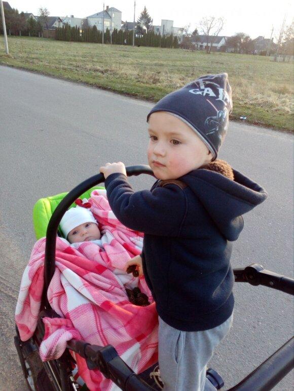 Skaudžius likimo kirčius atlaikiusi 2 vaikų mama Vilma padeda kitoms moterims