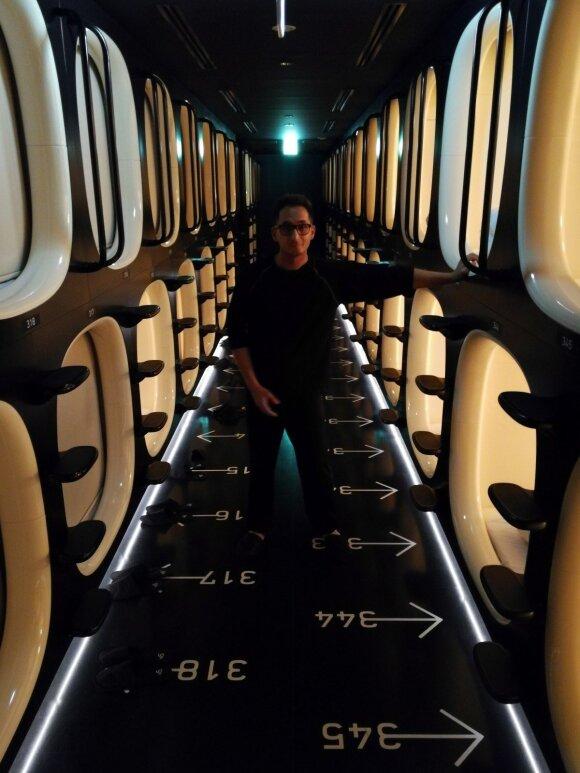 Kapsulių viešbutis Tokijuje