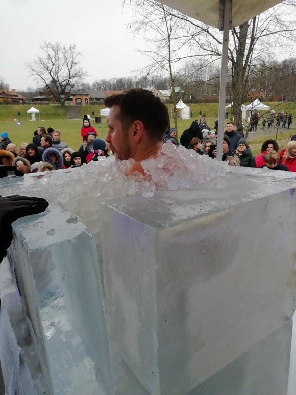 Vilniuje pagerintas buvimo ledo gniaužtuose rekordas