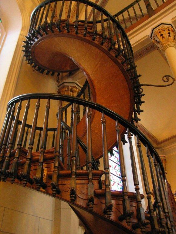 Loreto koplyčios sraigtiniai laiptai