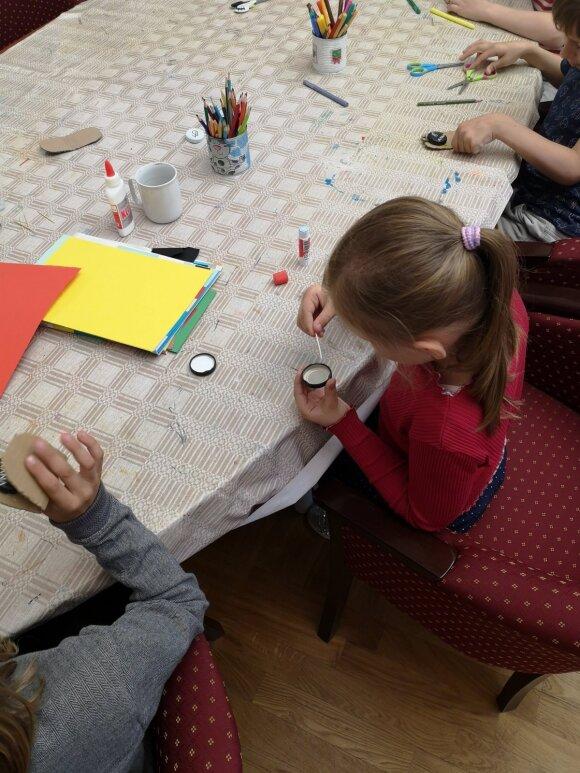 Sostinės biblioteka siūlo užsiėmimus vaikams