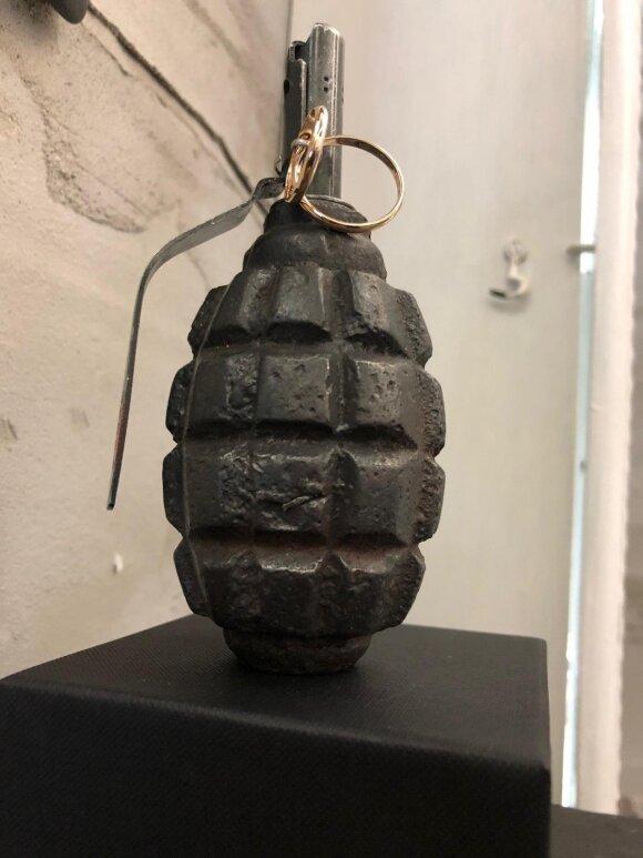 Sujudimą oro uoste sukėlęs objektas – meno kūrinys