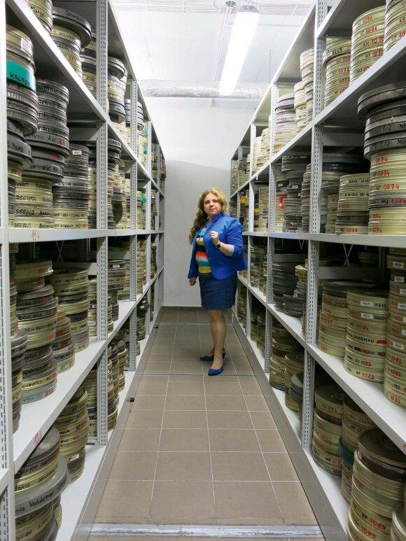 Mokyklos filmų archyve sukaupta daug vertingos medžiagos. Kuriamos skaitmeninės kino juostų kopijos, šios bus prieinamos internete