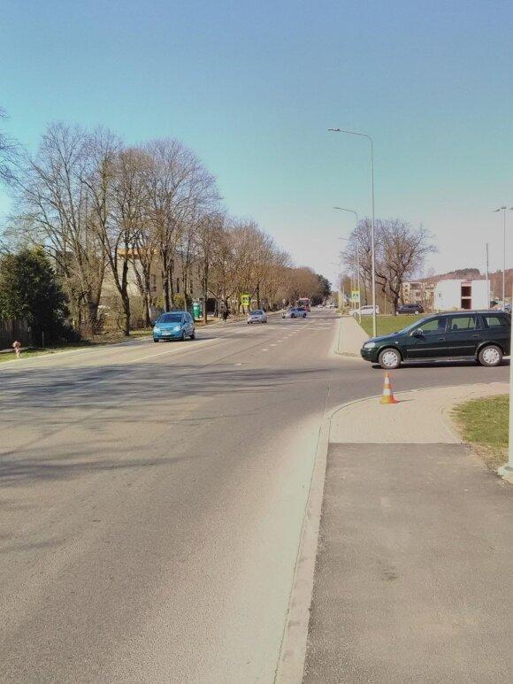 Galbūt matėte eismo įvykį Raudondvario pl. ir Ringailės g. sankryžoje?