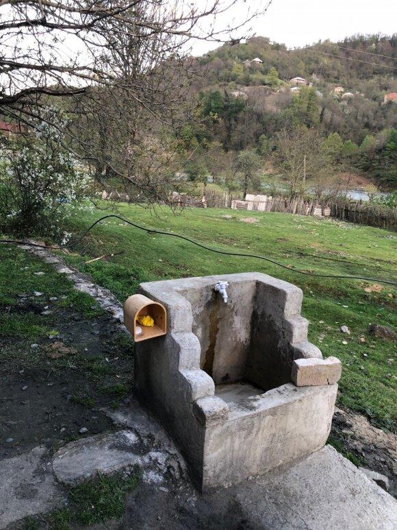 Degalinė Gruzijoje