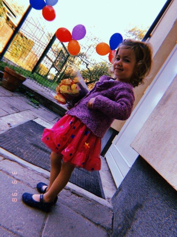 Julijos Žižės dukrelė