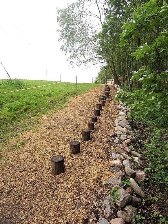 Biržų rajone, Drąseikių kaime, įrengto ekologinio basų kojų parko trasos ilgis – daugiau nei vienas kilometras