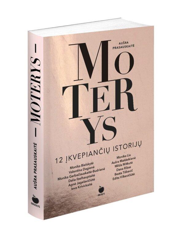 """Knyga """"Moterys: 12 įkvepiančių istorijų"""""""