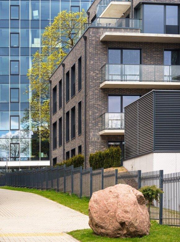 Vilniuje baigtas paskutinis gyvenamųjų namų projekto Neries pakrantėje etapas