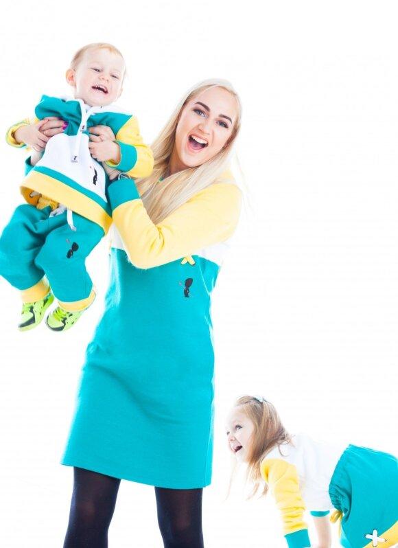 Indrė Stonkuvienė papasakojo, kaip savo dukrai padarė gėdą: gulėjome abi prekybos centre ant žemės ir rėkėme