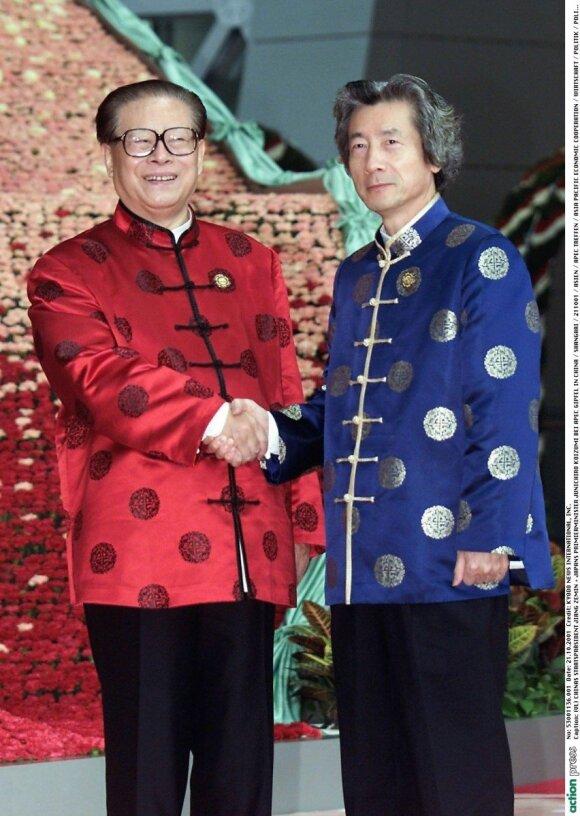 APEC 2001 m. Kinija, Jiangas Zeminas ir Junichiro Koizumi