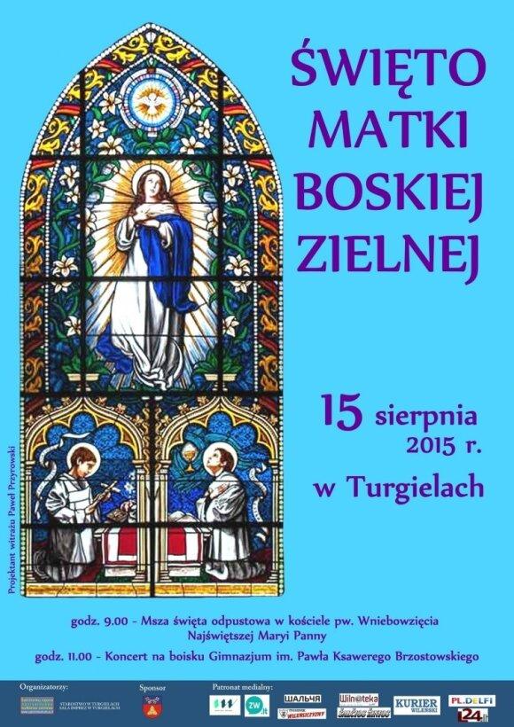 Święto Matki Boskiej Zielnej w Turgielach