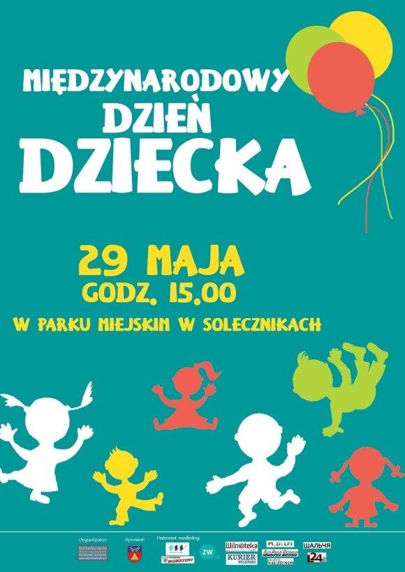 Międzynarodowy Dzień Dziecka w Solecznikach
