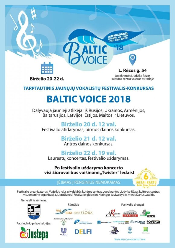 """Baltic voice 2018"""