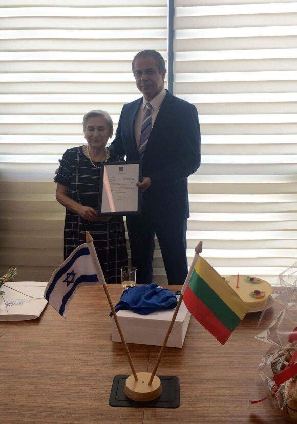 Выжившая в Вильнюсском гетто Бранцовская получила поздравления президента Израиля