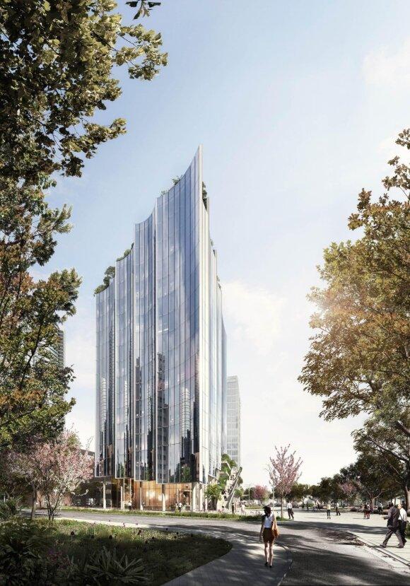 Vokietijos architektų ir SWECO pasiūlymas