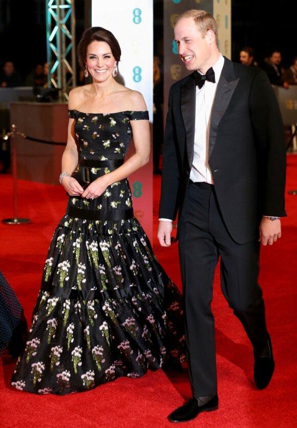 Princas Williamas ir Kembridžo hercogienė Kate Middleton