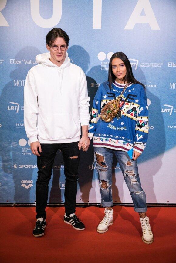 Jonas Misevičius ir Karolina Meschino